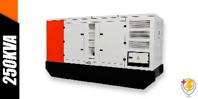 Aluguel Gerador de Energia 250 kva