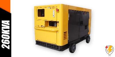 Aluguel Gerador de Energia 260 KVA
