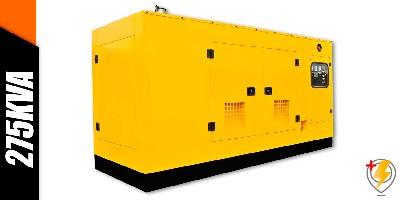 Aluguel Gerador de Energia 275 KVA