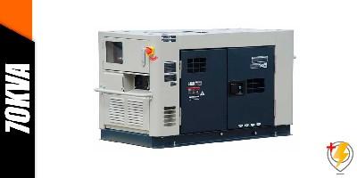 Aluguel Gerador de Energia 70 KVA
