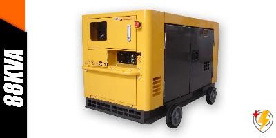 Aluguel Gerador de Energia 88 KVA