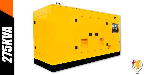 Aluguel Gerador de Energia 275 KVA Sorocaba